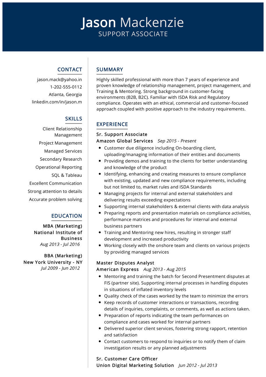 100 Professional Resume Samples For 2020 Resumekraft Resume Examples Downloadable Resume Template Resume Template