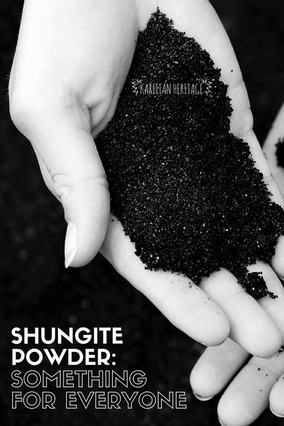How to use shungite powder? Create your interior décor with shungite