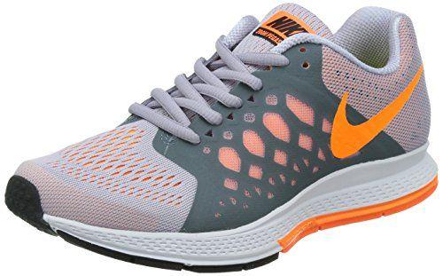 Nike Air Zoom Pegasus 31 Damen Laufschuhe, Mehrfarbig (Titanium/Bright Citrus-Total Orange 501), 38 - http://uhr.haus/nike/38-eu-nike-air-zoom-pegasus-31-damen-laufschuhe-5
