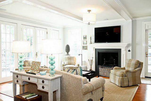 Formal Living Room Ideas Entrance Window