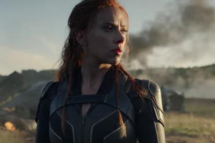 Black Widow Trailer Scarlett Johansson Battles Florence Pugh In Her Own Marvel Stand Alone Picture Th Black Widow Movie Black Widow Marvel Black Widow Trailer