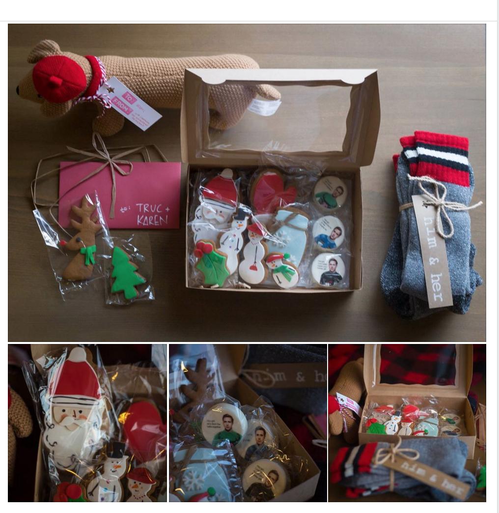 Christmas Cookie Care package | Christmas cookies, Sweet ...