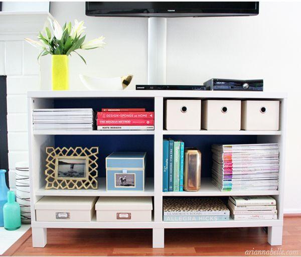 Living Room Organization Furniture Sets For Organized Media Unit Arianna Belle Blog Pinterest