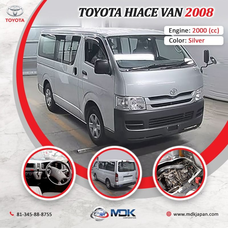 Japanese Toyota Van 2008 In 2020 Japanese Used Cars Used Cars Toyota Van
