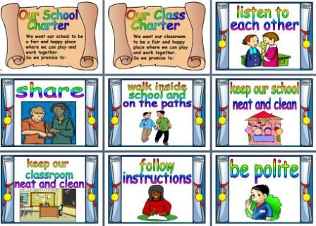 Classroom Rules Poster Printable | Hanh | Pinterest | Search ...