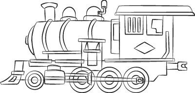 TLC Family How To Draw Trains Steam Engines