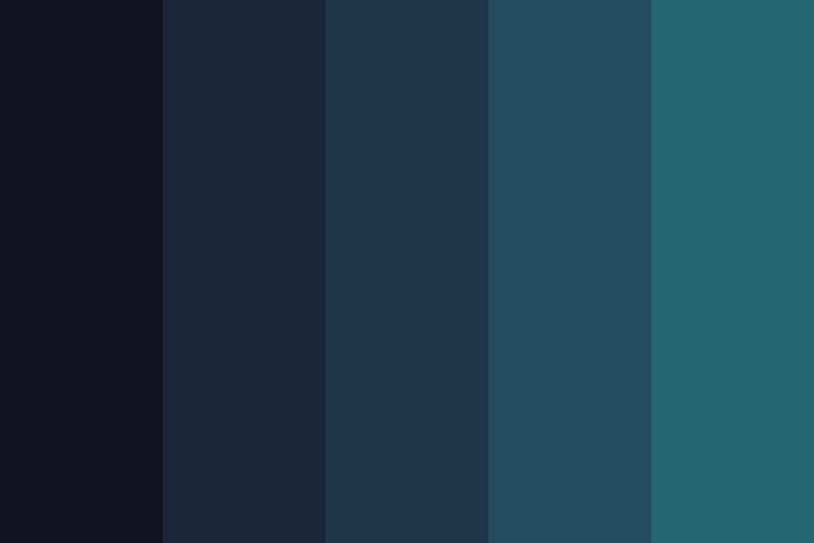 Dark Silk Teal Edition Color Palette #colorpalettes # ...