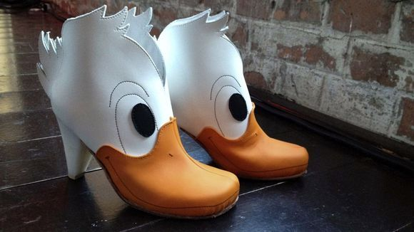 Duck Martens by Lotta Astrid. Crazy Shoe Award 2012, third place. - Find 150+ Top Online Shoe Stores via http://AmericasMall.com/categories/shoes.html