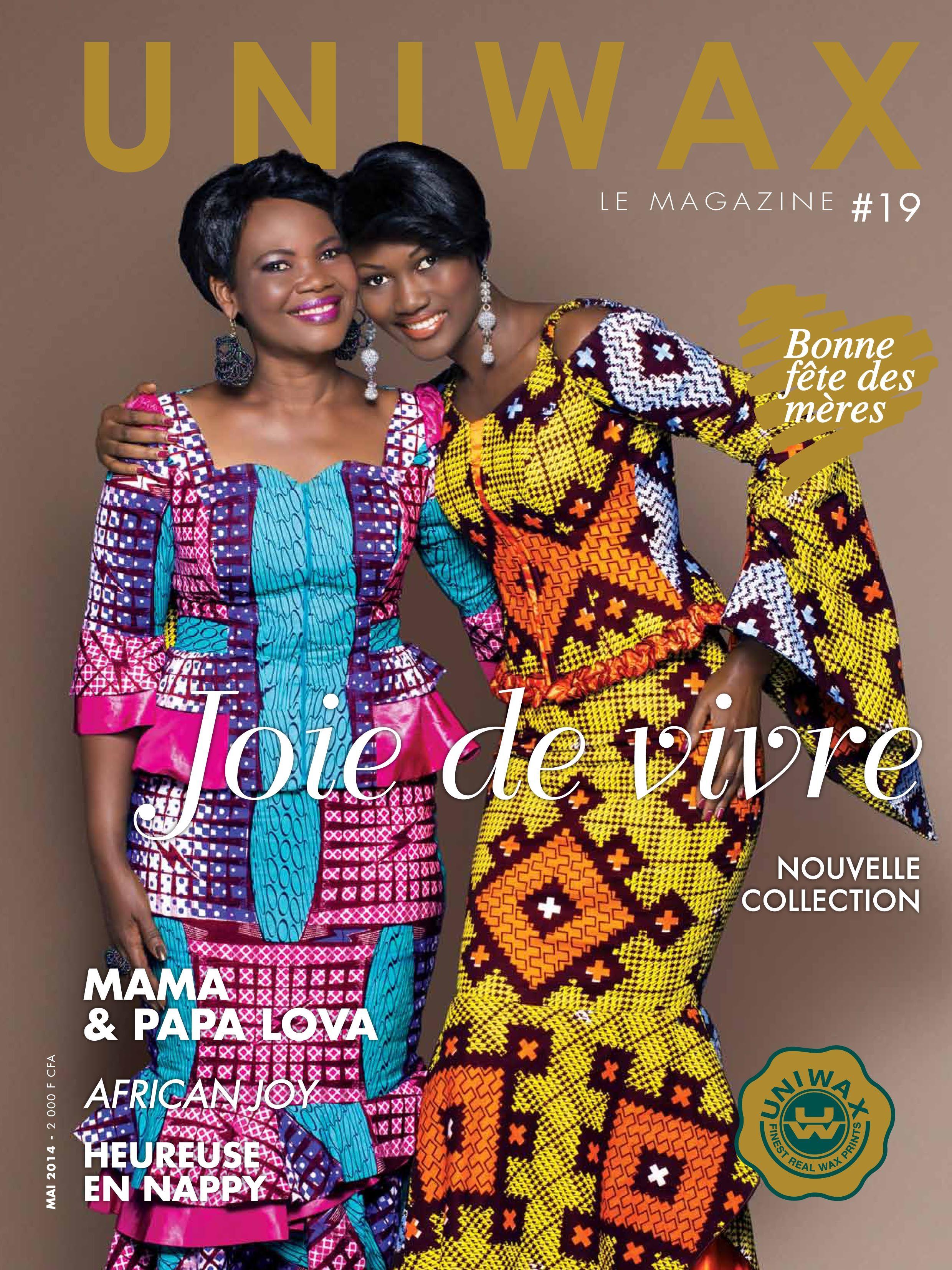 UNIWAX Magazine19 Wax fashion Mode Africaine UNIWAX
