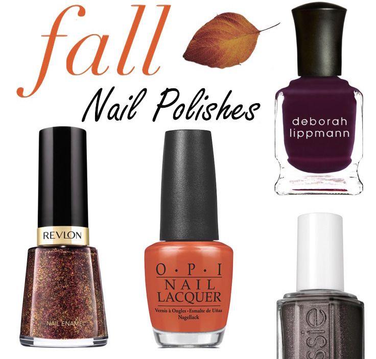 10 Hot Nail Polish Colors to Try This Fall | Nail polish ...