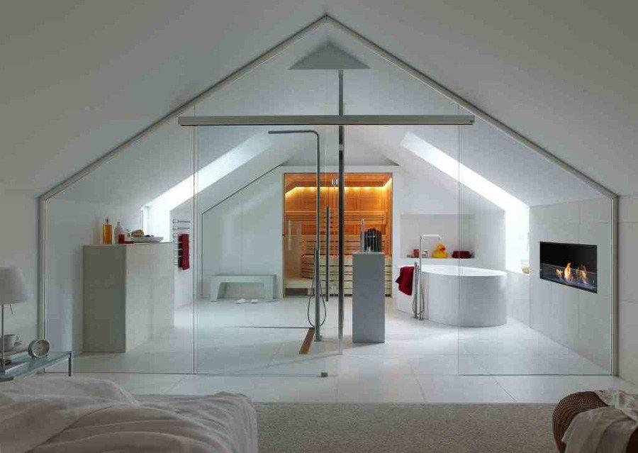 Combles Open space | aménagement | Attic playroom, Attic ...