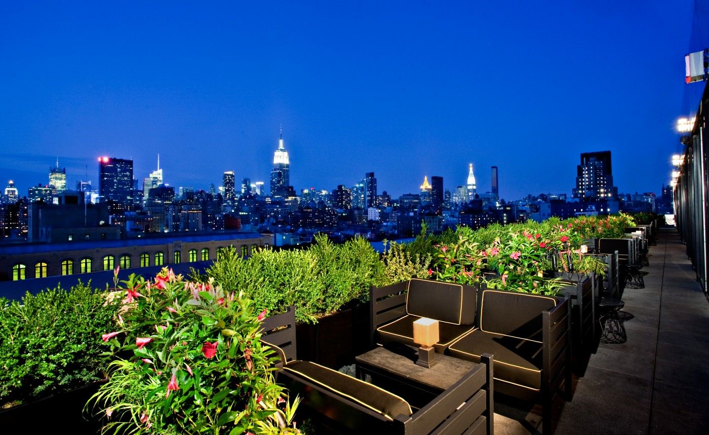 Official Photos Ph D Lounge Rooftop Bars Nyc Nyc Hotels Dream Hotels