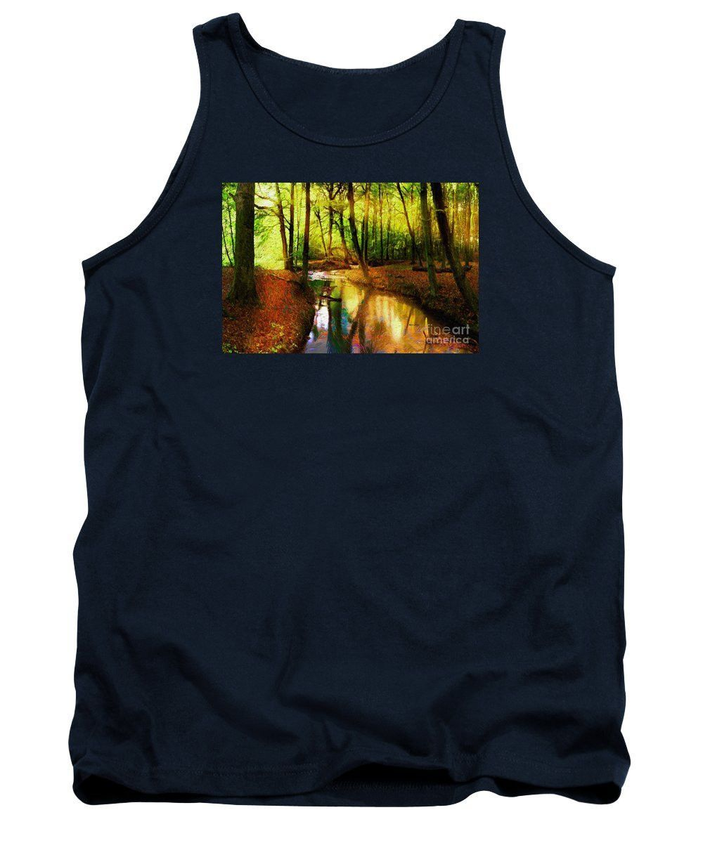 Tank Top - Abstract Landscape 0747