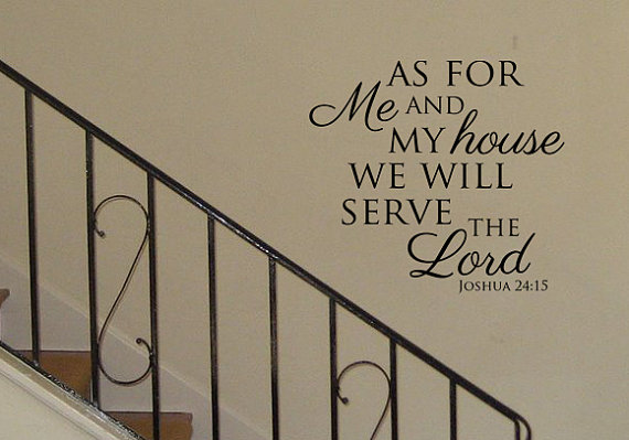 As For Me And My House We Will Serve The Lord By Designstudiosigns, $31.50