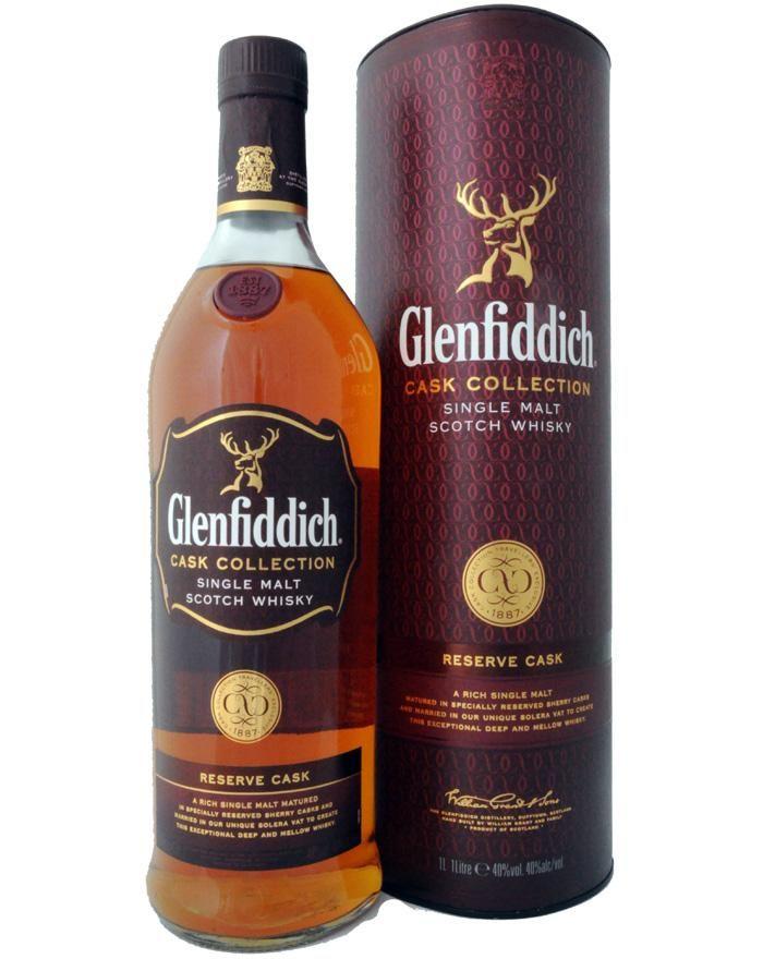 Glenfiddich Reserve Cask (40% ABV)