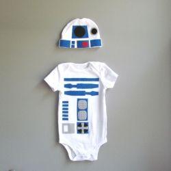 D2D2 baby grow #StarWars
