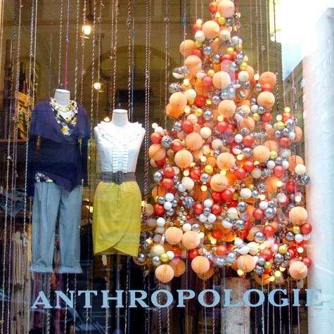Anthropologie, you\u0027ve done it again Christmas Window Displays