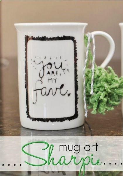 Sharpie Mug Art #mugart