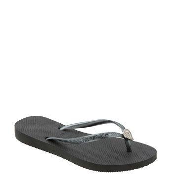 Fancier black flip flops.  Yes still casual.