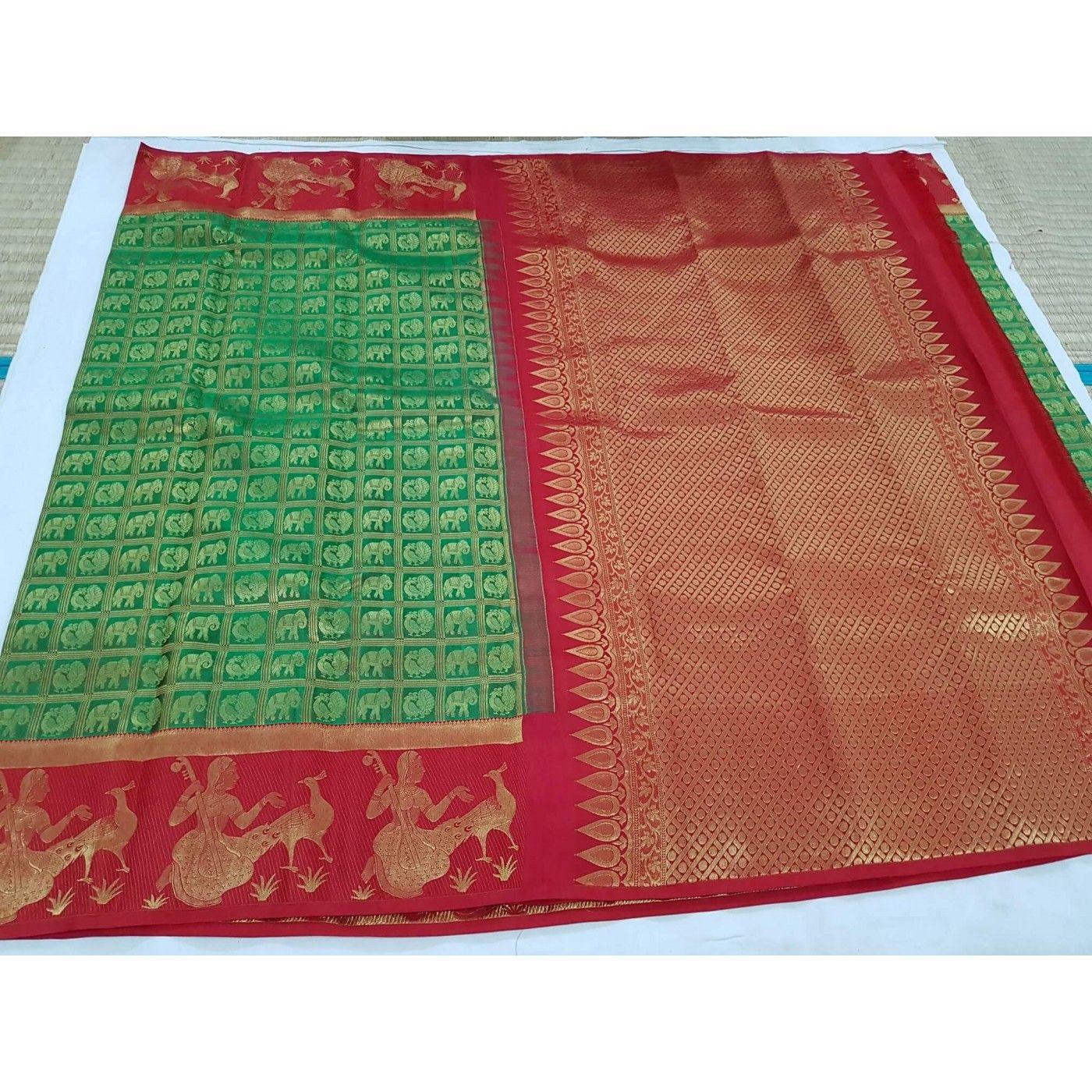 Kanchipuram Bridal Silk Saree 168  Kanchipuram Sri Madheswaran Silk