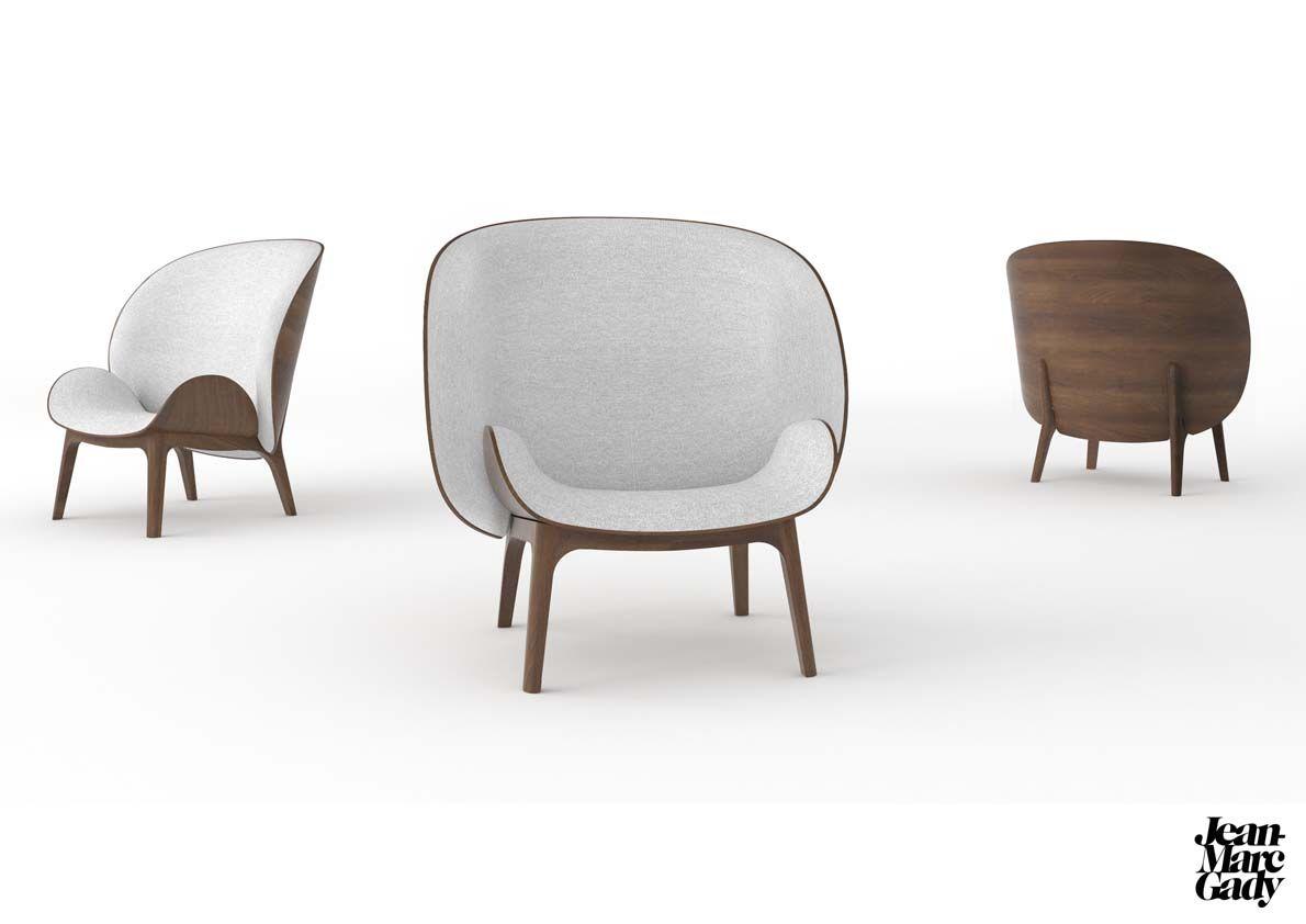 Studio Jean Marc Gady hug | armchair . sessel . fauteuil | design: jean-marc gady