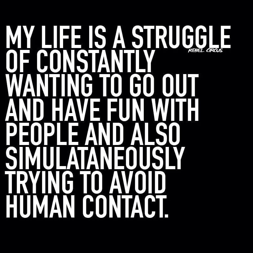 Human Contact | Funnies | Personality disorder quotes