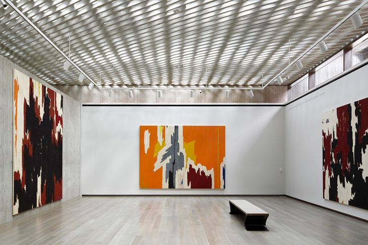 Modern Architecture Artists museum exposed duct - google search | interiors | pinterest