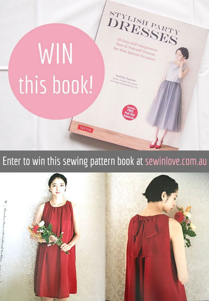 Stylish Party Dresses - Japanese sewing book review & give away ...