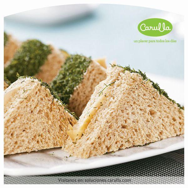 Mini sándwiches de trucha
