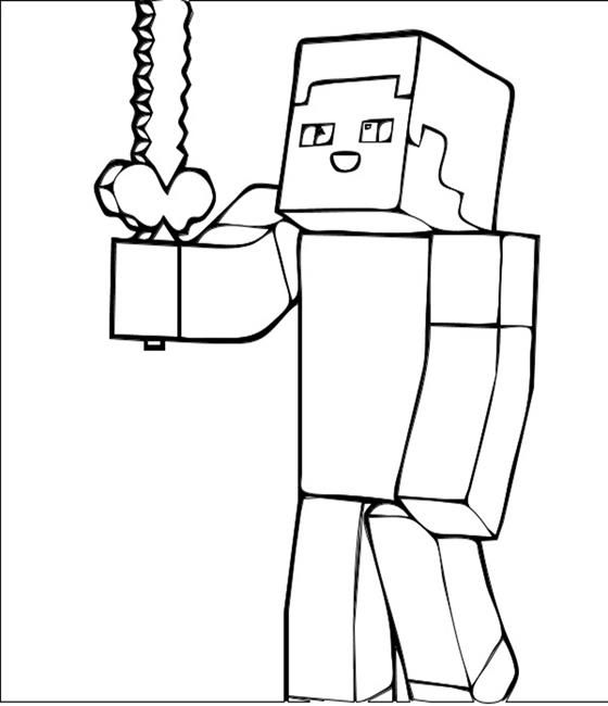 minecraft coloring pages Minecraft Pinterest - new coloring pages of the diamond minecraft
