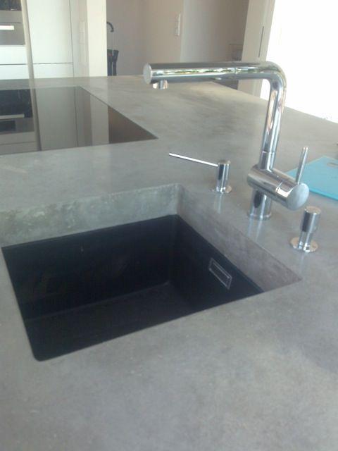 Beton   Concrete Küchenarbeitsplatte Beton   Concrete Design - küchenarbeitsplatte aus beton