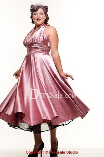 Retro-Style Plus Size Wedding Dresses