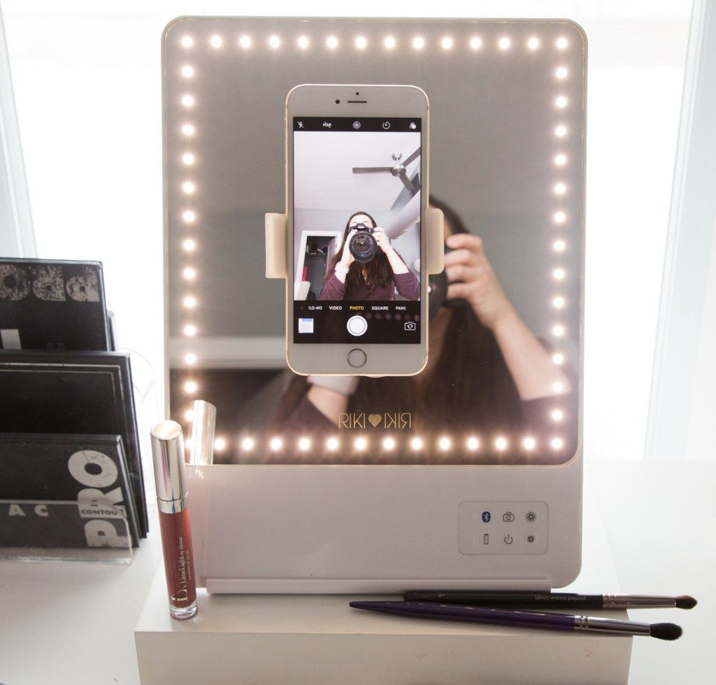 Glamcor Riki Skinny Mirror Review Wake Up For Makeup