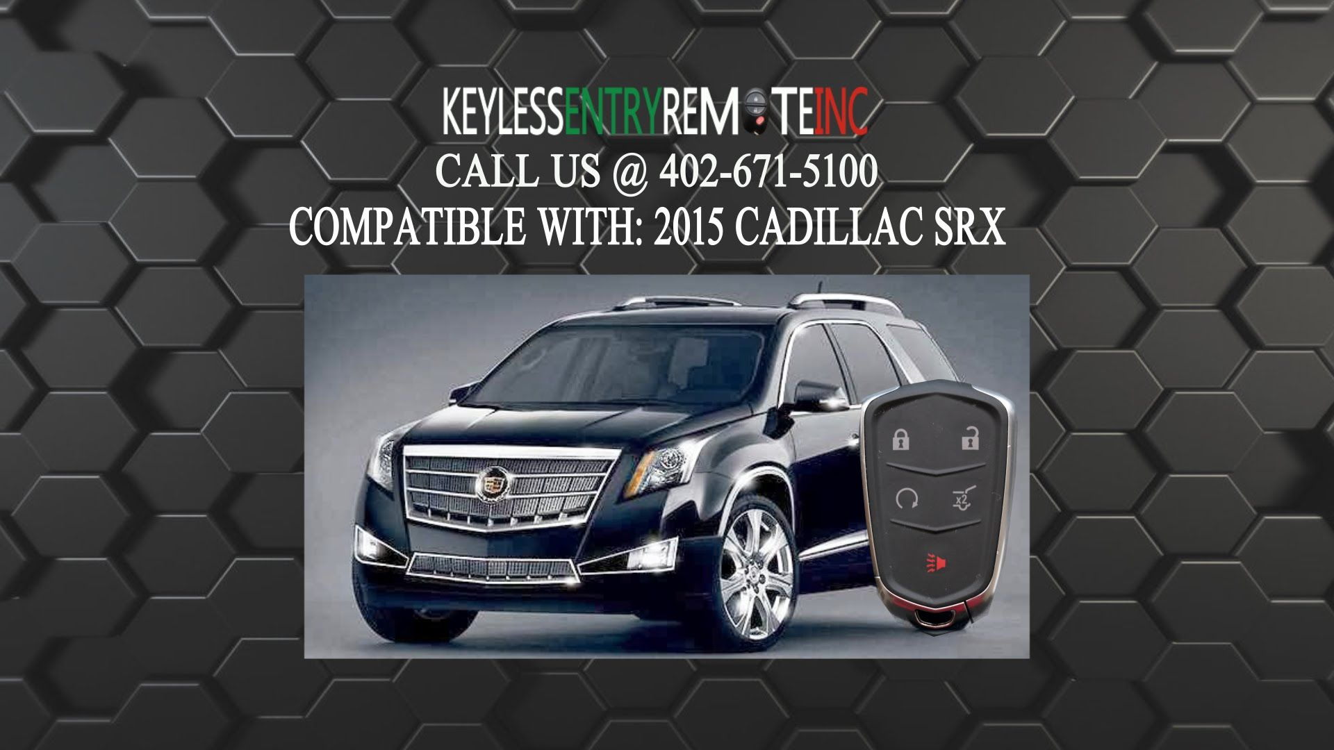 How To Replace A Cadillac SRX Key Fob Battery 2015 - 2017