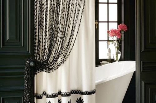 Curtains Designs For Bathrooms And Showers Pouted Com Elegant Shower Curtains Luxury Shower Curtain Cool Shower Curtains