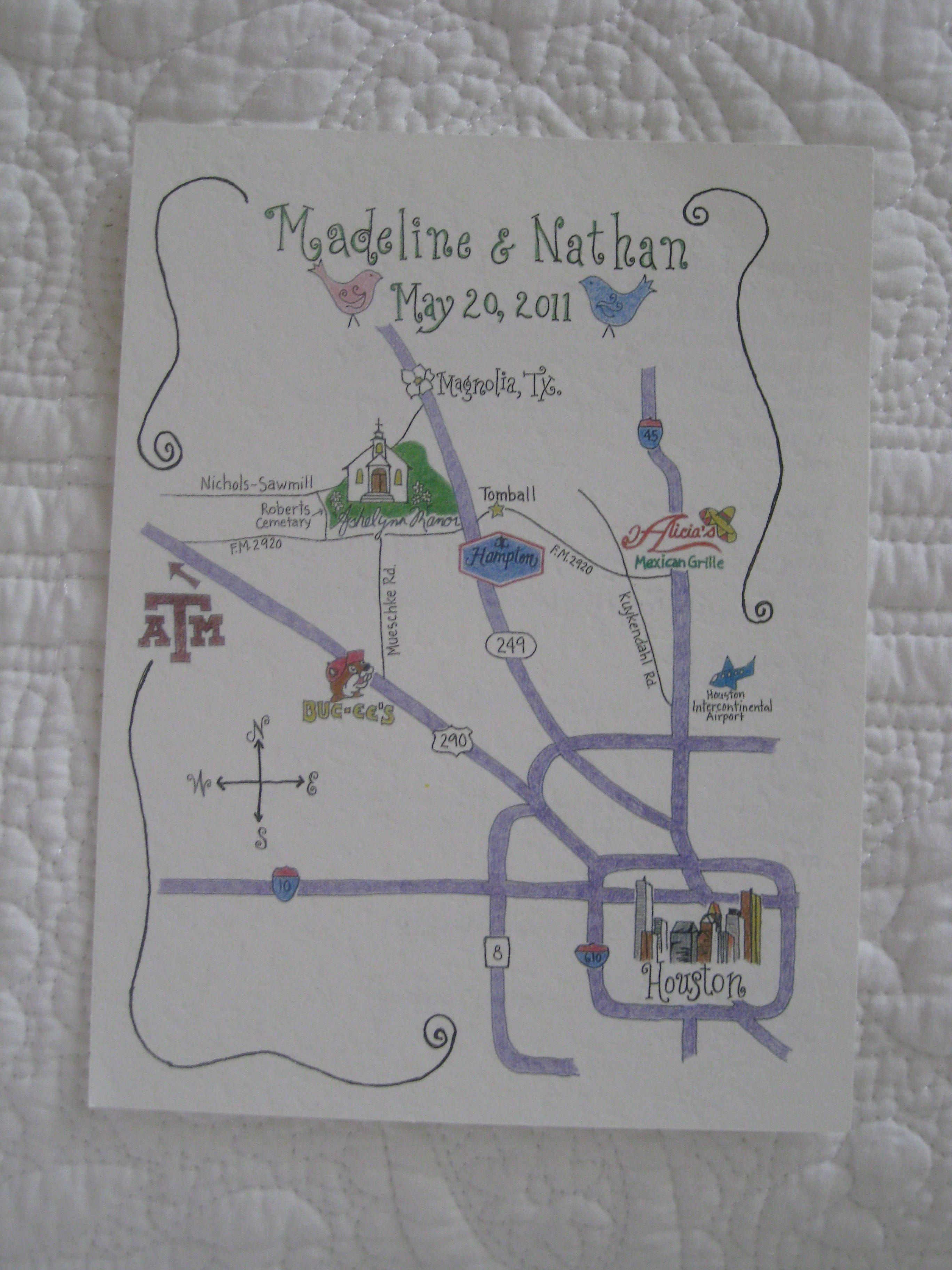 As Do Cute Wedding Maps Invitations Make Me Hy In 2019