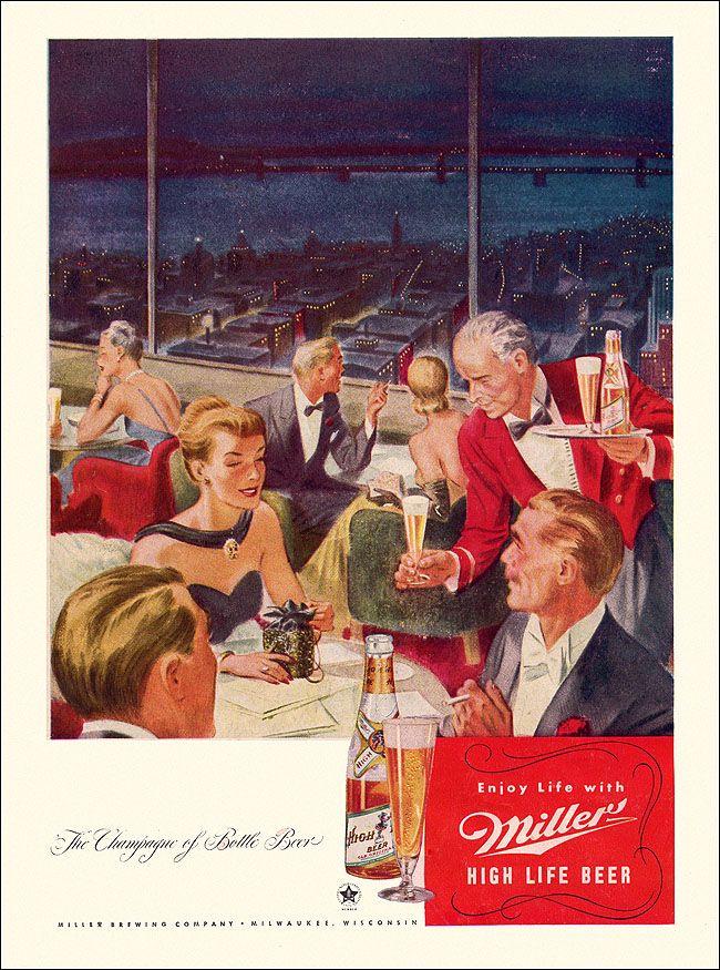 Vintage Miller Beer Ad