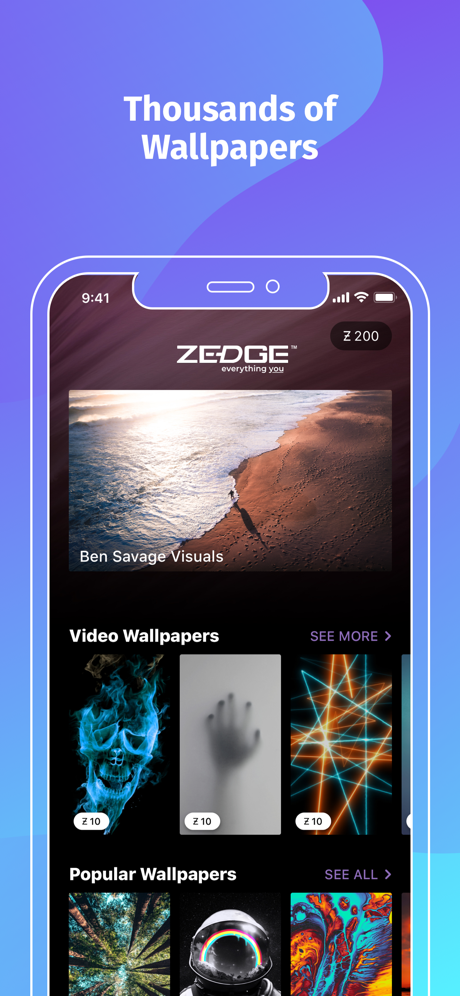 ZEDGE™ Wallpapers on the App Store in 2020 Iphone