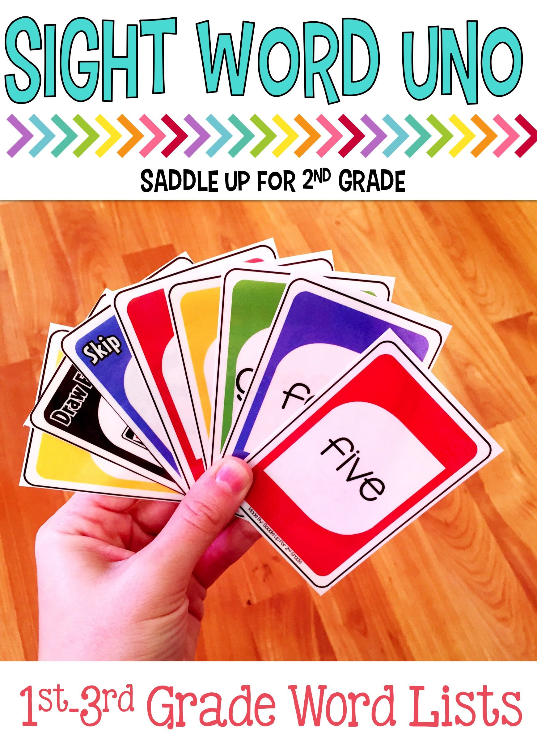 Sight Word Card Game Bundle