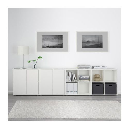 eket schrankkombination f e wei ikea w rfel regale. Black Bedroom Furniture Sets. Home Design Ideas