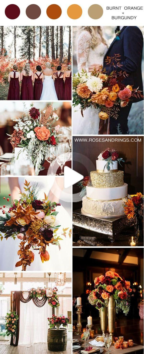 50 Best Burgundy Wedding Color Ideas for 2020 in 2020