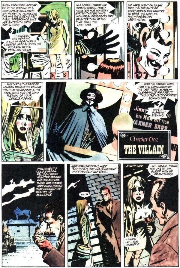 V For Vendetta Evey V V For Vendetta Comic Comics V For Vendetta