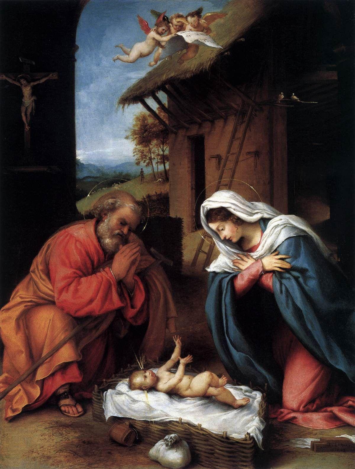 Resultado de imagen de nacimientos famosos en el arte