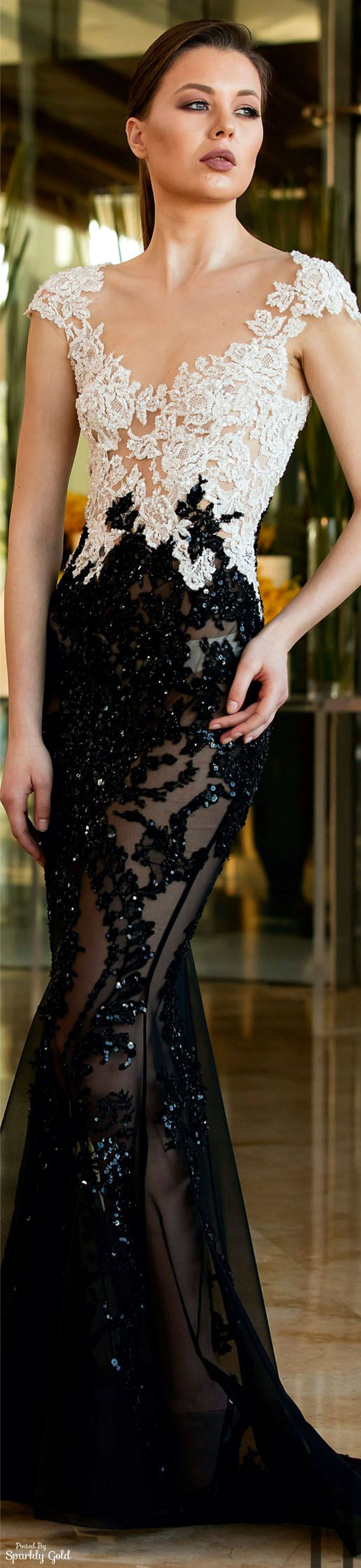 Toufic Hatab Spring 2016 Couture