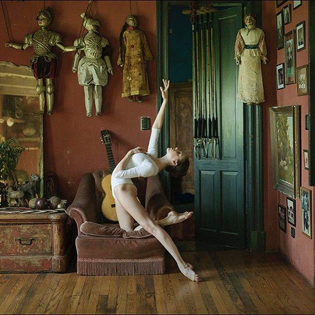 #Ballerina - @katieboren1 in #ElOmbucito #GeneralLasHeras #Argentina #Bodysuit by @wolfordfashion #Wolford #ballerinaproject_ #ballerinaproject #ballet #dance