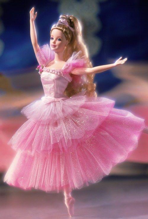 Barbie Doll as Flower Ballerina from the Nutcracker