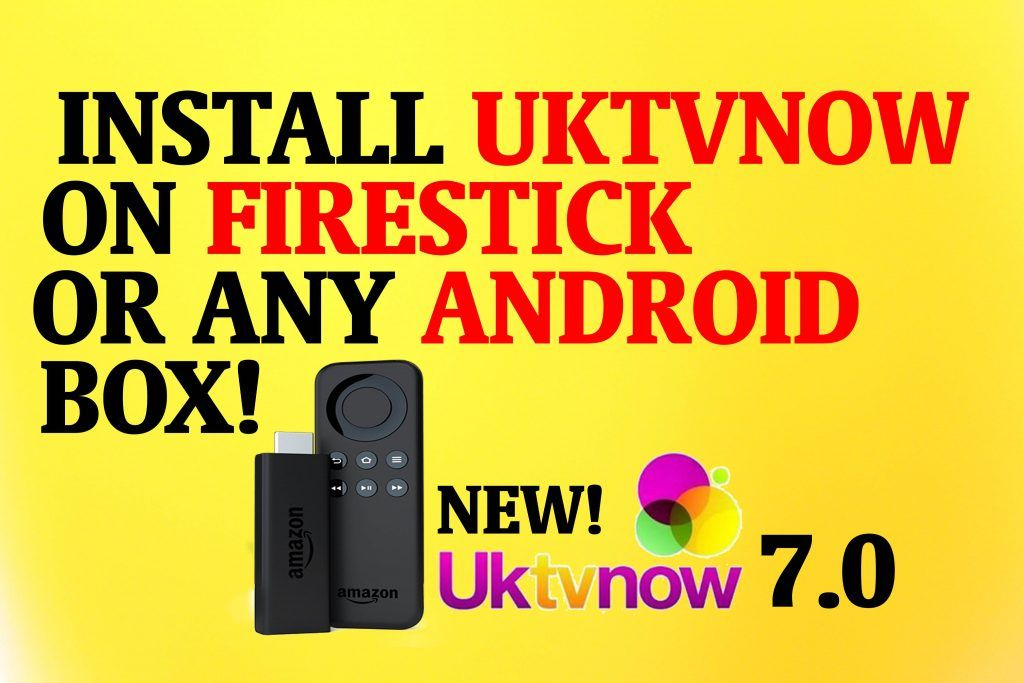 Download and Install UkTVNow on Firestick by following