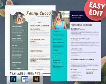 Free Creative Resume Templates Image Result For Modern Cv Free Template  Cv  Pinterest