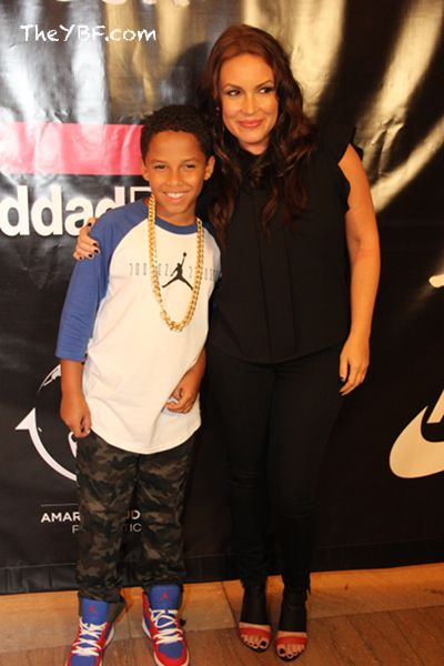 Photo de Angie Martinez & son fils Niko Ruffin