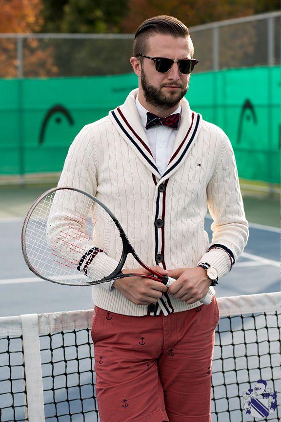 Hamlet Tennis Tennis Clothes Fashion Sport Outfit Men